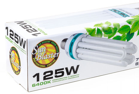 SunBlaster 125W Compact Fluorescents