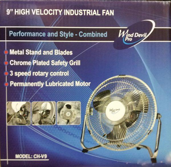 """Wind Devil Floor Fan 9"""""""