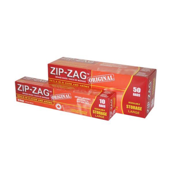 Zip-Zag Storage Bags
