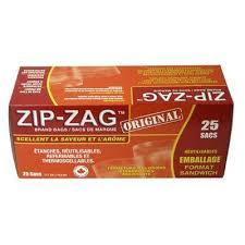 zip zag small