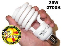 SunBlaster Compact Fluorescents, 13, 26 and 55 Watt