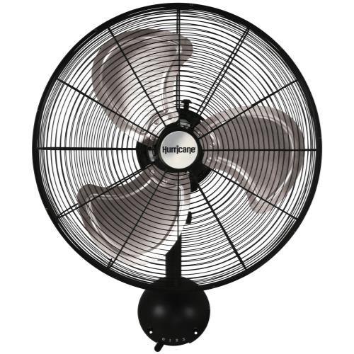 Hurricane Pro H V Oscillating Metal Wall Mount Fan 20 in